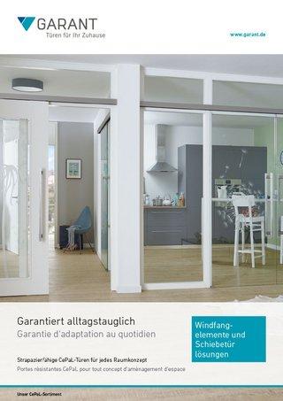 Bevorzugt Schiebetüren aus Glas & Holz von GARANT UZ77