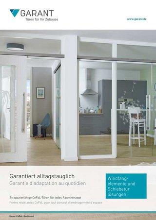 Schiebetüren aus Glas & Holz von GARANT
